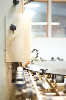 Maschine bei Lipfert Glas